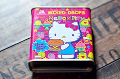 Sanrio x Morinaga Fruit Sweets Tin (MoonBaby2202) Tags: cute japan toy pretty colours sweet hellokitty small mini sanrio collection kawaii sweets colourful collectible gashapon stationery crux qlia rilakkuma sanx kamio mindwave poolcool