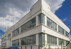 Former Coty Cosmetics factory, Great West Road Art Deco (Gordon Haws) Tags: moderne artdeco a4 deco brentford greatwestroad thegoldenmile wallisgilbertpartners cotycosmetics syonclinic bmisyonclinic