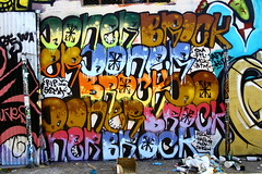 DONER BROCK (SPEAR1X) Tags: ca street cali wall graffiti graf rip ska socal brock spraypaint msk sema skrew doner reck 2014 ftl btm aloy hael