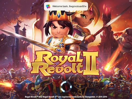 Royal Revolt! Loading: screenshots, UI