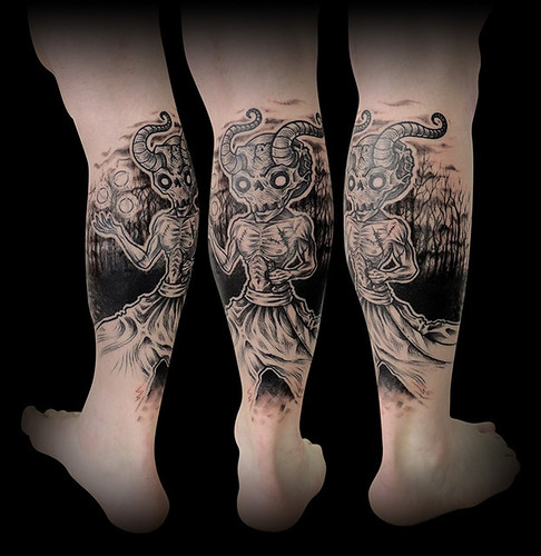 aurelio_tattoo_david_mollet_demon_foret_bd