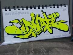 DVATE... (colourourcity) Tags: streetart graffiti melbourne f1 sdm burner mdr rath dv8 blackbook adn nofilters dvate burncity colourourcity rathvsdvate