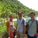 "Sara, Nick and Chip <a style=""margin-left:10px; font-size:0.8em;"" href=""http://www.flickr.com/photos/14315427@N00/14832301592/"" target=""_blank"">@flickr</a>"