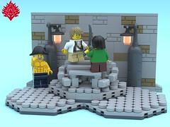 Stage1 (Umbra-Manis) Tags: bobs building lego eslandola salidaeste moc mecabricks pirates