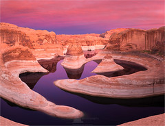 Reflection Canyon, Lake Powell (www.fourcorners.photography) Tags: lakepowell colorado utah canyon glencanyonnationalrecreationarea glencanyon reflectioncanyon water sunset guidedphototour houseboat peterboehringerphotography iful