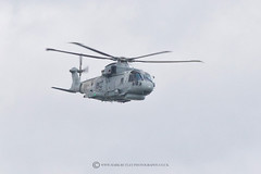 MERLIN (mark_rutley) Tags: fleetairarm flyby flynavy flypast hampshire harbour helicopter lynx portsmouth royalnavy merlin