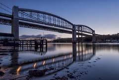 Brunel Bridge (EXPLORED) (pedro2324) Tags: tamar bridge brunel seascape seashore river reflections vista saltash plymouth devon cornwall