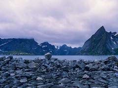 Blue Rapsody (JaZ99wro) Tags: 645 e100g e6 f0324 fiord mamiya645protl norway norwegia opticfilm120 tetenal3bathkit analog exif4film film rocks