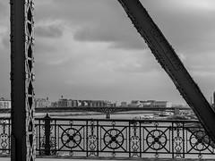 Panasonic Lumix DMC-G80 testshot / tesztfotó (FotoVideo magazin, Hungary) Tags: panasoniclumixdmcg80 g80 hungary test teszt bw blackwhite feketefehér szabadsághíd bridge budapest