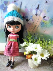 Blythe knit top dress
