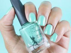 Fairy da coleção Tinker Bell da Biotropic Cosmética (Lily's Nail) Tags: tinkerbell disney nails unhas