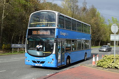 PIJ 601 (markkirk85) Tags: thurrock bus buses ensign ex lg52dda volvo b7tl wright gemini ensignbus new arriva london north 22003 vlw99 lg52 dda pij 601 pij601