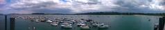 Dinard bay (filippi antonio) Tags: dinard saintmalo armor côtedarmor brittany bretagne bretagna breizh francia france sea seascape waterscape ocean atlantic bay water boats panoramic landscape clouds canon skyline