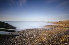Climping Shingle (Richard Paterson) Tags: west beach littlehampton long exposure sea shore shingle groyne seascape