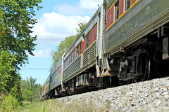 Low Angle on a Passenger Train (craigsanders429) Tags: cuyahogavalleyscenicrailroad cuyahogavalleynationalpark passengertrains passengercars cvsrtrains