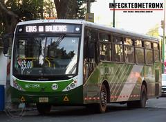 CAIO Volvo Pro City M1 1785 (infecktedbusgarage) Tags: volvo caio procity rtp b290r m1 autobus urban bus mexican df cdmx ciudaddeméxico reddetransportedepasajerosdeldf millenium méxico ecobus induscar