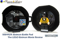 Grab your Battle Pod and bring your Batman whenever you go (WhiteFang (Eurobricks)) Tags: lego batman movie review polybag cat costume tuxedo print pod case suit outfit colour colourful coat hero superhero dc comic