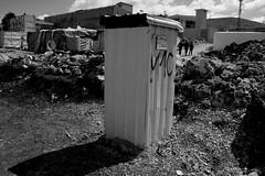 Toilet funded by World Vision and UNICEF (davidvankeulen) Tags: republieklibanon républiquelibanaise middleeast middenoosten afrikaeurazië lebanon libanon liban westbeqaa westbeka beka beqaa biqâ becaa westbekaavalley bekaavallei refugeecamp temporarysettlement its informaltentedsettlement tent vluchtelingenkamp syrian syrians joubjannine qaraounlake davidvankeulen davidvankeulennl davidcvankeulen urbandc europe unhcr worldvision sewege toilet restroom unicef