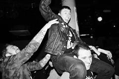 Happy Punx! (chearn73) Tags: punk punks audience concert people fun blackandwhite camden theunderworld london uk music