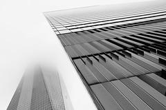 One World Trade Center and 7 World Trade Center (jbarry5) Tags: oneworldtradecenter 7worldtradecenter newyorkcity newyork manhattan travelphotography travel geometry blackandwhite abstract