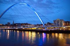 Gateshead Millennium Bridge 2 (red.richard) Tags: millennium bridge gateshead newcastle tyne river maritime