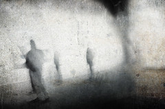 headless society (Lamson*Nu~wen (away)) Tags: lamson abstract textures government murky clouded bw mono blackandwhite people averybadexhibit museum