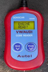 108/365  Autel Geniscan GS200 VW/AUDI OBD2 Code Reader