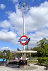 Oakwood (R~P~M) Tags: train railway station londonunderground piccadillyline oakwood enfieldwest london england uk unitedkingdom greatbritain