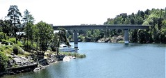 Danderyd bridge (bokage) Tags: sweden bokage edsviken bridge danderyd bergshamra