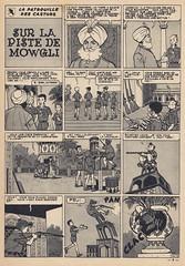 Spirou Nr. 978 / Seite 9 (micky the pixel) Tags: comics comic heft magazin vintage leséditionsdupuis spirou micheltacq mitacq lapatrouilledescastors dieblauenpanther pfadfinder scout indien