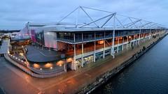 eXcel London (35mmMan) Tags: london docklands city urban metropolis dusk uk e16 nikon docks excel exhibition centre
