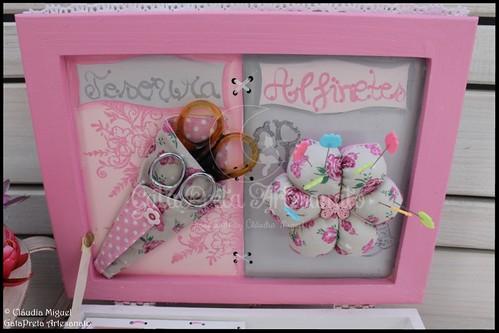 "Caixa de costura ""Meninas Prendadas"""