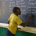 Students in Primary Seven at Zanaki Primary School