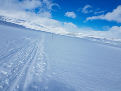 Snow-covered Hardangervidda