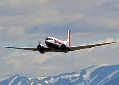 N30TN Douglas Super DC-3 Trans Northern Aviation (Keith B Pics) Tags: dc3s superdc3 n30tn douglas keithbpics r1820 tna tansnorthern alanglarson anchorage panc anc alaska n30000 n222hc n223r n6811 xbniw n567m n53315