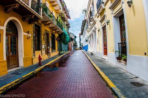 Calle 9 Este, Casco Viejo, Panama City, Panama