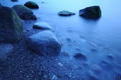 Fog (Nintendo_rocks) Tags: long time exposure explore me ostsee ostseestrand baltic sea water blue mecklenburg rerik wustrow vorpommern pomerania germany deutschland night nacht rocks steine meer see