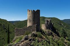 Tour Régine et Cabaret - Châteaux de Lastours - Aude (Vaxjo) Tags: occitanie aude cabardes lastours châteaux ruines ruins