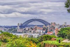 Sydney: Harbour Bridge From Taronga Zoo (gecko47) Tags: landscape cityscape sydneyharbour harbourbridge northshore tarongazoo 2010