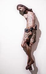 Bent (campra) Tags: germany deutschland cologne koln koeln museum schnutgen schnuetgen middle ages medieval sculpture wood jesus cross crucifixion