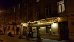 Streets of Lviv Old Town at Night (tarmo888) Tags: samsunggalaxy s6edge android smartphone geotaggedphoto geosetter sooc photoimage фотоfoto year2016 special nightshot ukraine україна ukrayina украи́на украина lviv lwów lvov lemberg львів львов leopolis lwow unesco