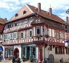 Seligenstadt Einhardhaus von 1596 (wernerfunk) Tags: hessen fachwerk