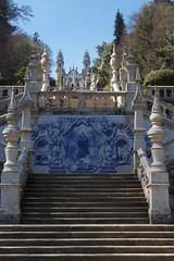 Santuário de Nossa Senhora dos Remédios - Lamego (Cláudio S. Feijó) Tags: claudio serra feijo portugal santuário de nossa senhora azulejo remédios lamego