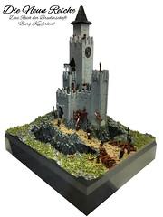 """Die Neun Reiche - """"Burg Kupferloch"""" C6 (markus19840420) Tags: lego moc castle dieneunreiche dasreichderbruderschaft the9kingdoms imperiumdersteine knight stonework landscape"""