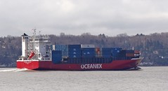Oceanex Avalon - IMO 9315044 (Jacques Trempe 2,670K hits - Merci-Thanks) Tags: caprouge quebec canada ship navire fleuve river stlaurent stlawrence containeur conteneur oceanex avalon