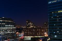 La Défense by night (Paris) (docteurTonTon) Tags: la défense by night paris thomas tesson light lanscape paysage seen from sky