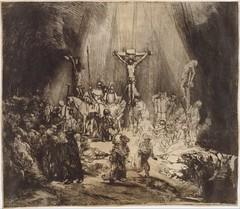 Cristo Crucificado entre os Dois Ladrões: As Três Cruzes