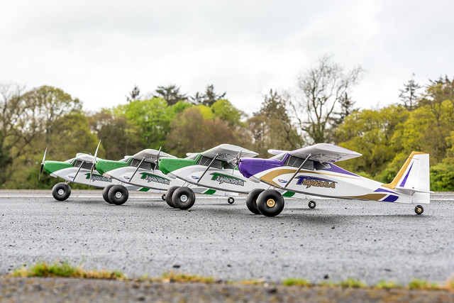 Just some of the club Durafly Tunda fleet!