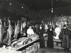 North Country at Work Meat Market (NCPR) Tags: ncatwork northcountryatwork saranaclake butchershop 1900s oldmeatmarket