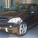 Mercedes en tôlerie pour réparations aile et pare-chocs arrière. Carrosserie inter-union - 53 route de suisse, 1295 Mies Tél.022 755 45 30 - Fax. 022 779 03 28 Site internet: www.interunion.ch